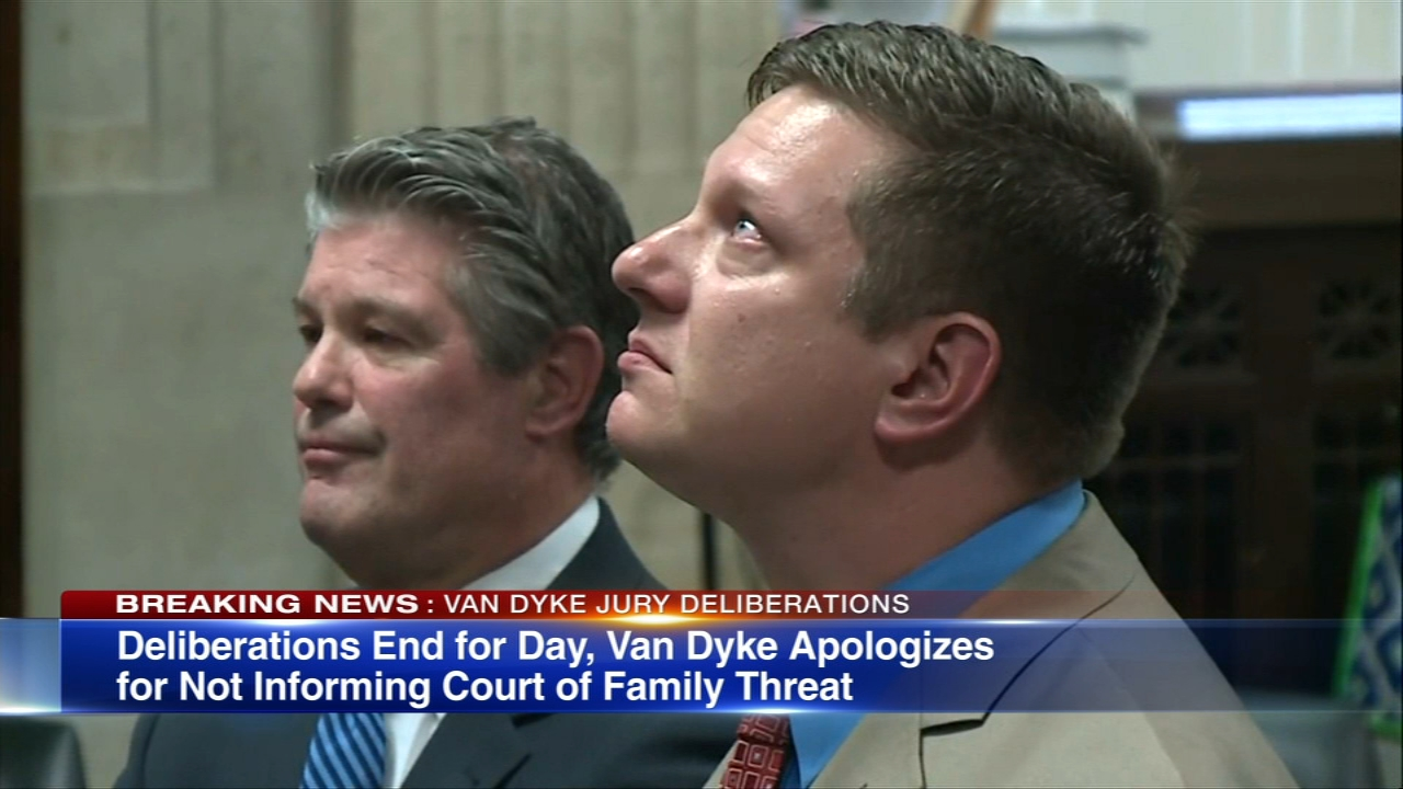 Jason Van Dyke Trial Jury Sequestered 1st Day Of Deliberations