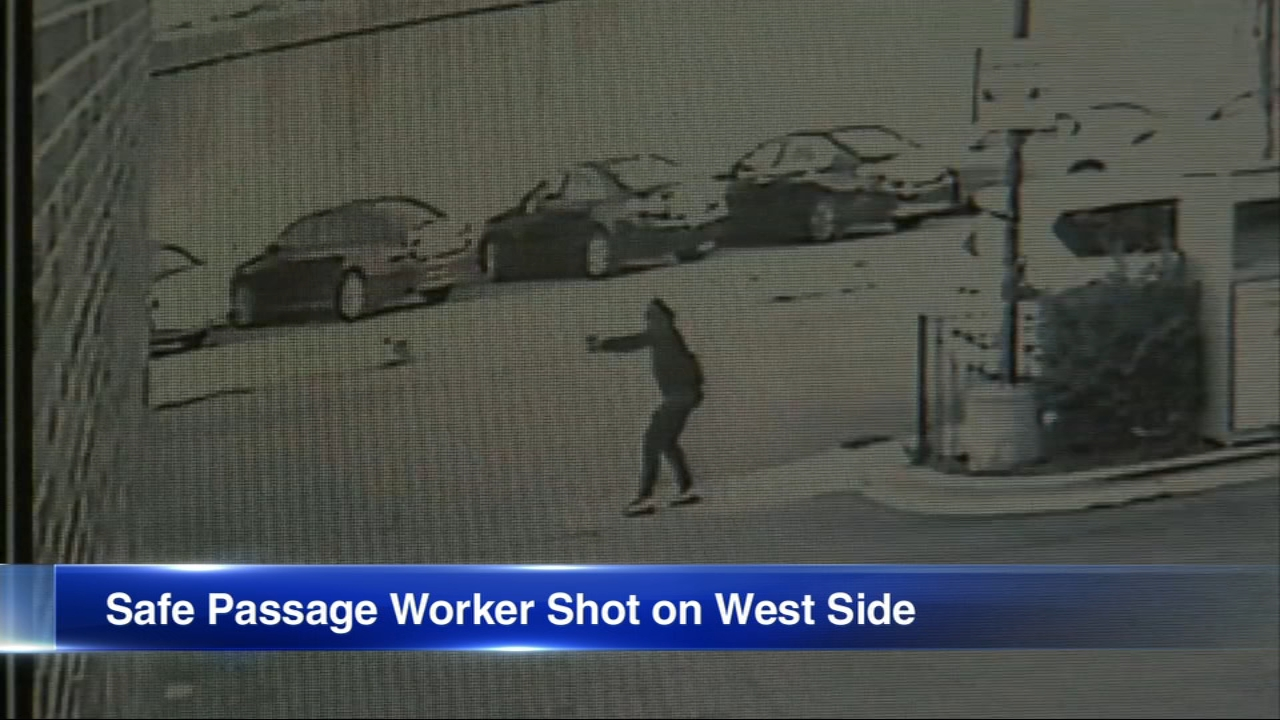 A Safe Passage worker was wounded in a shooting in the South Austin neighborhood Thursday morning.