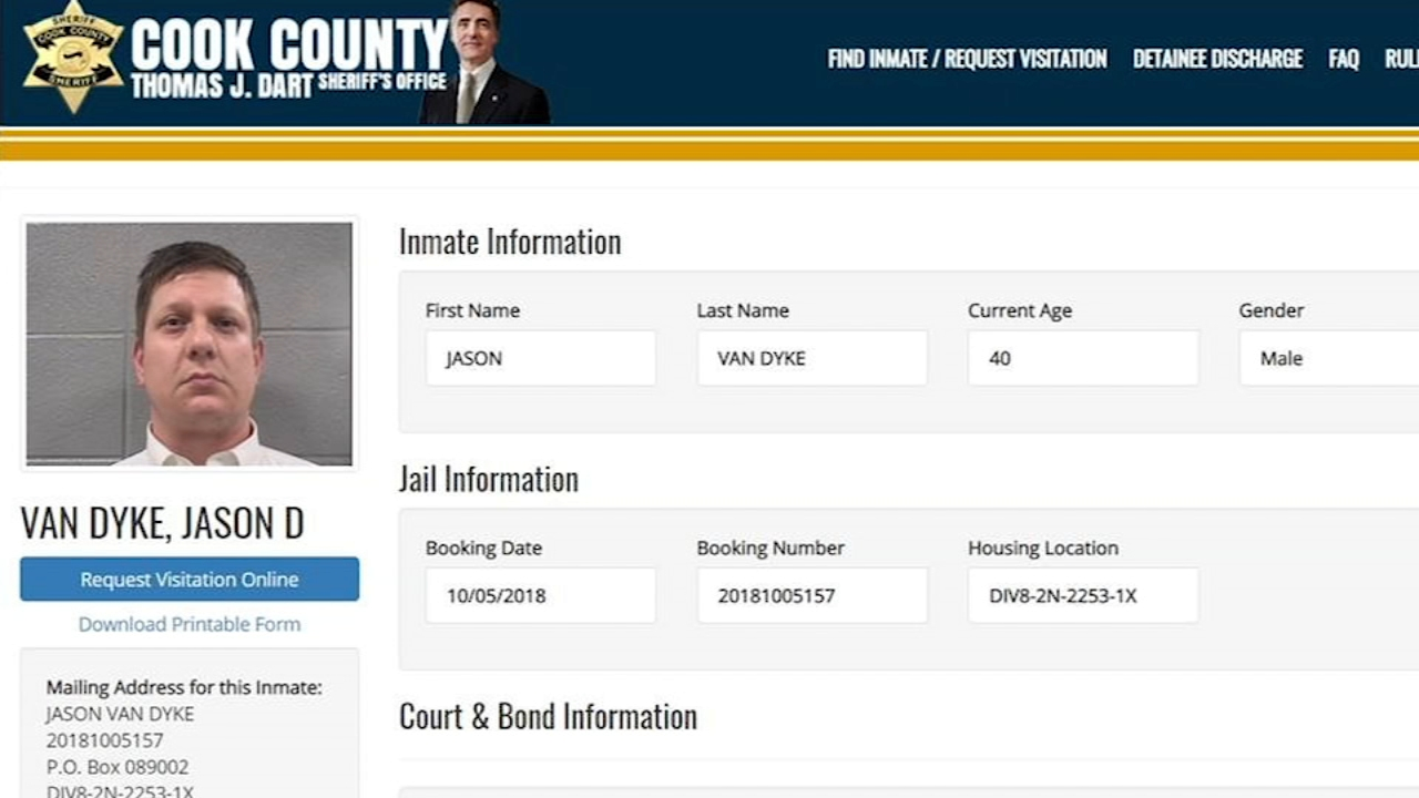 Jason Van Dyke is in the medical wing of Cook County jail undergoing an evaluation, while the rest of the jail is on lockdown.