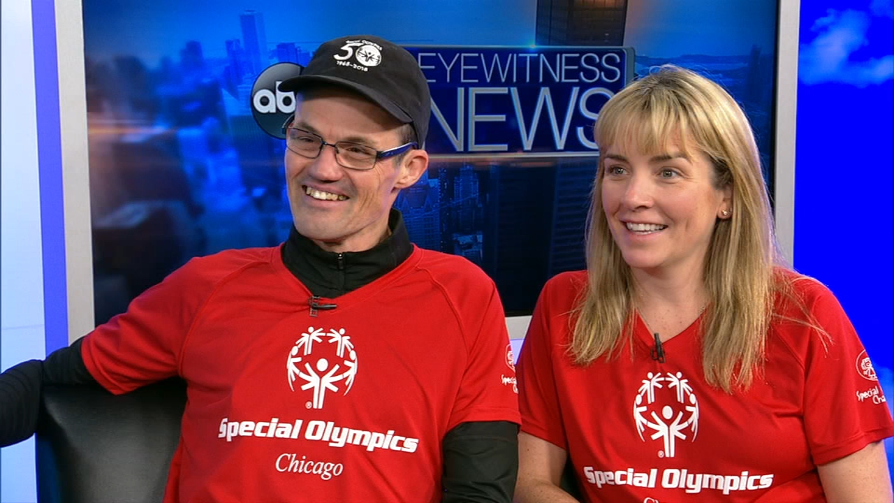 A Special Olympics athlete will be running the 2018 Chicago Marathon in the first-ever unified running team with the Special Olympics and is making Chicago proud.
