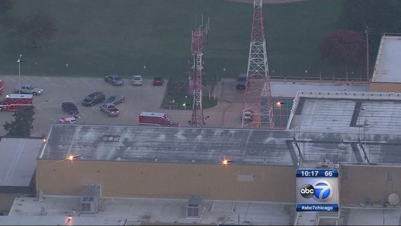 Controlled chaos heard during Aurora FAA facility fire