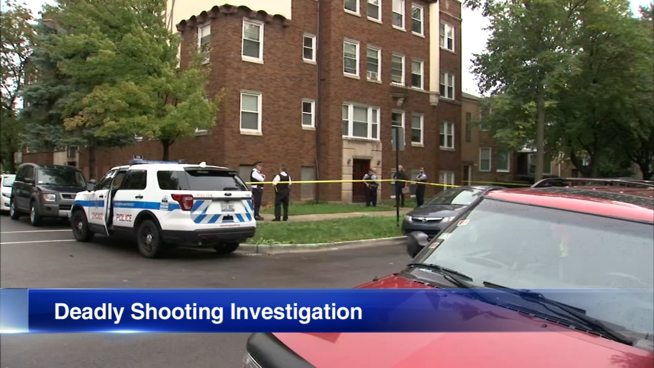 A man was fatally shot at 10:30 a.m. Sunday in the 5700 block of North Spaulding Avenue.