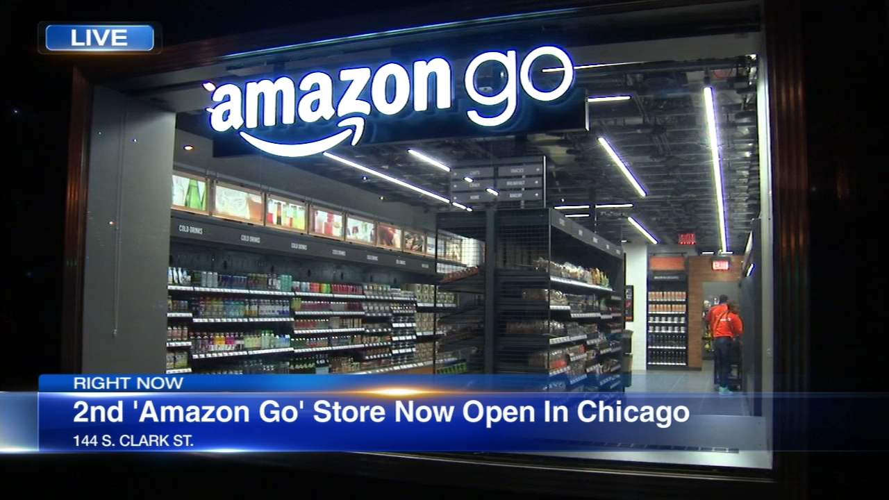 A new Amazon Go location just opened in Chicago.