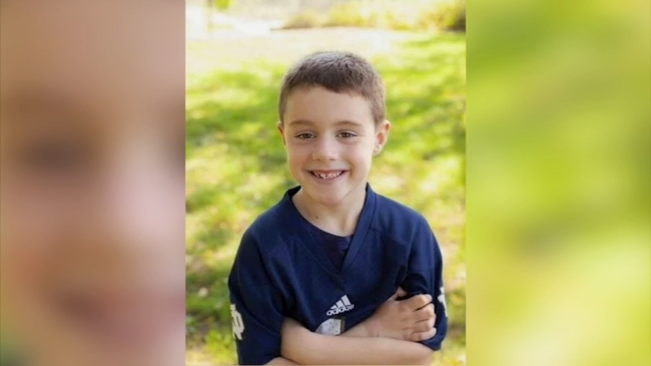 Brady Doherty, 7, died days after he was injured during a birthday party at My Gym childrens gym in Wheaton.