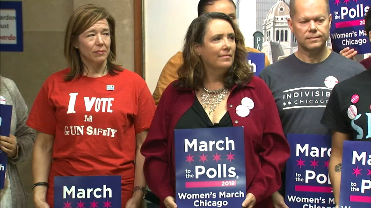 The March to the Polls will be held on Saturday, kicking off with a 9 a.m. rally at Congress and Columbus in Chicago.
