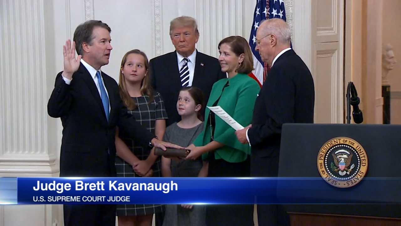 Justice Brett Kavanaugh is hearing his first case Tuesday morning after a bitter, month long fight over his confirmation.