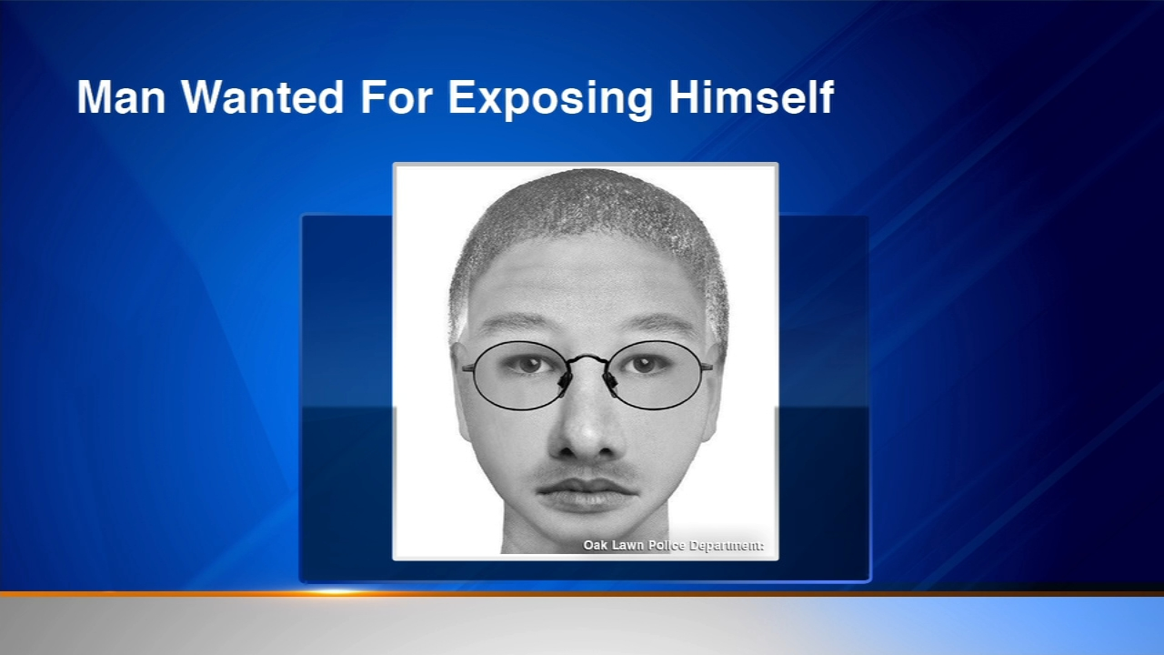 People in Oak Lawn are being alerted about a man who is exposing himself.