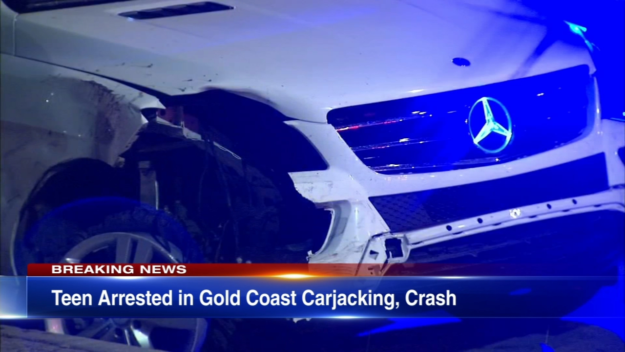 A 17-year-old boy has been charged after a carjacking in the Gold Cast led to a crash near Buckingham Fountain.