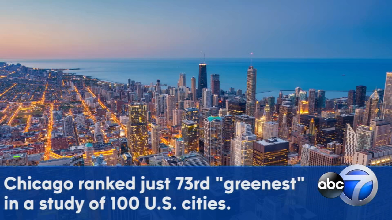 Chicago was ranked in the bottom third of a new study of the greenest cities in the country. See which cities came out on top.