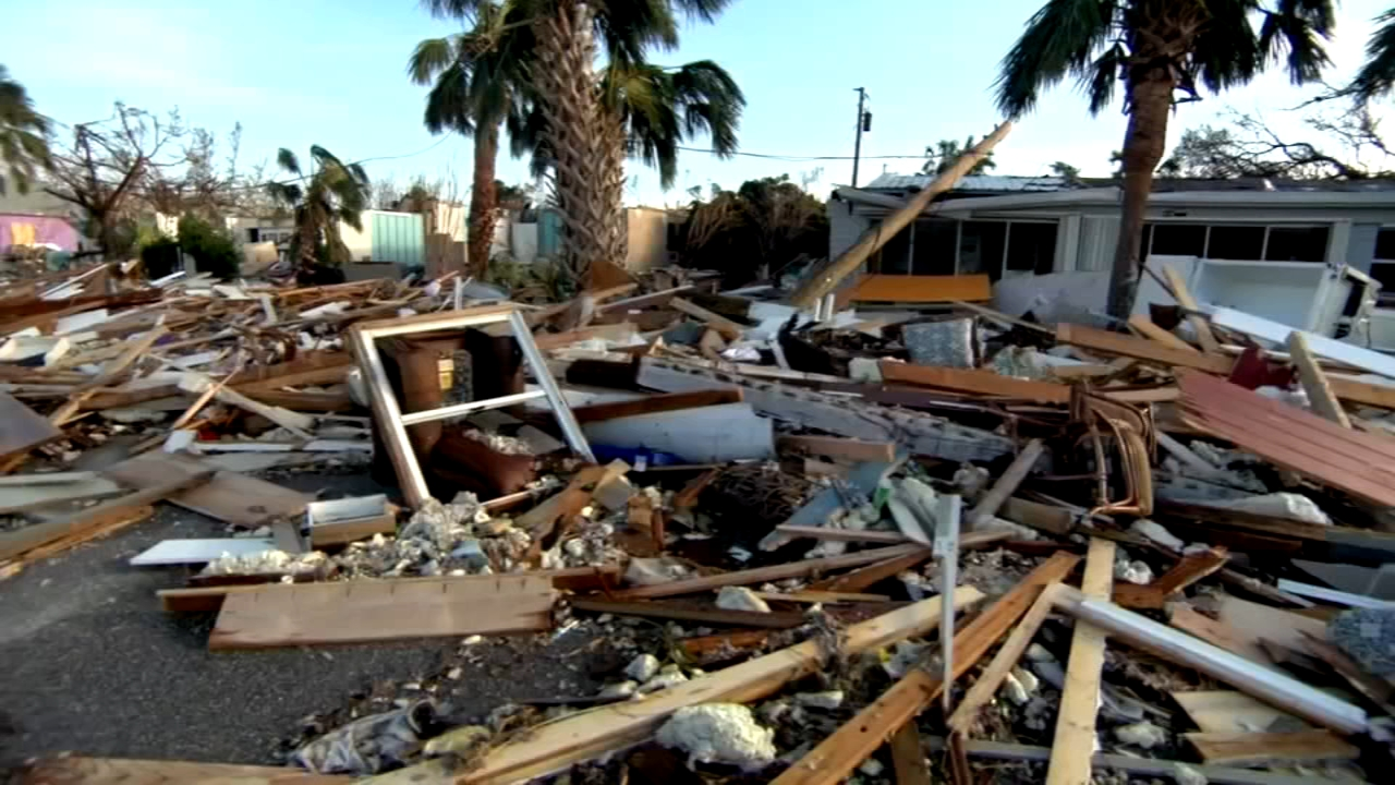 The devastation inflicted by Hurricane Michael came into focus Thursday with rows upon rows of homes found smashed to pieces, and rescue crews struggling to enter stricken areas.