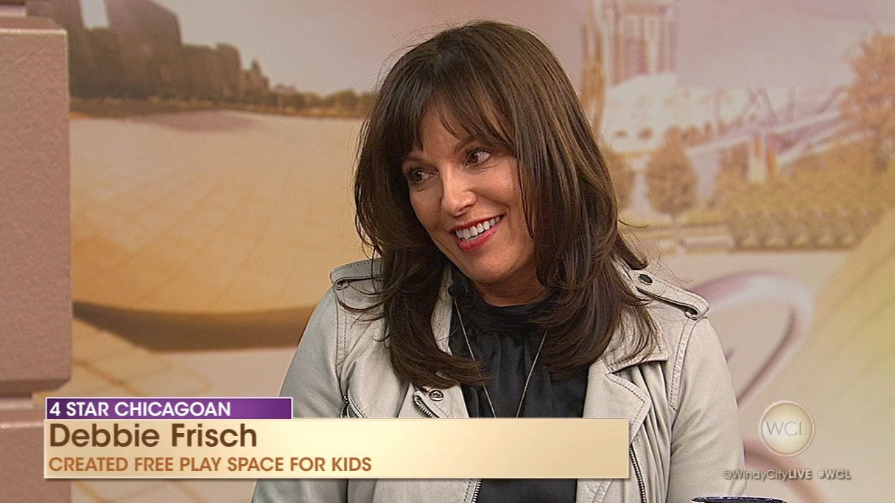 This weeks 4 Star Chicagoan, Debbie Frisch, created a free and safe play space for kids and their caregivers.