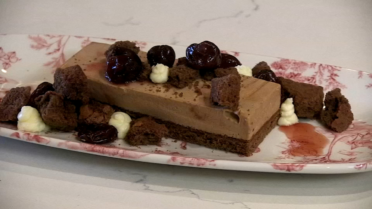 In Steve's Extra Course video, he takes a closer look at one of the restaurant's desserts – an updated Black Forest Cake, with a traditional digestif to go along with it.
