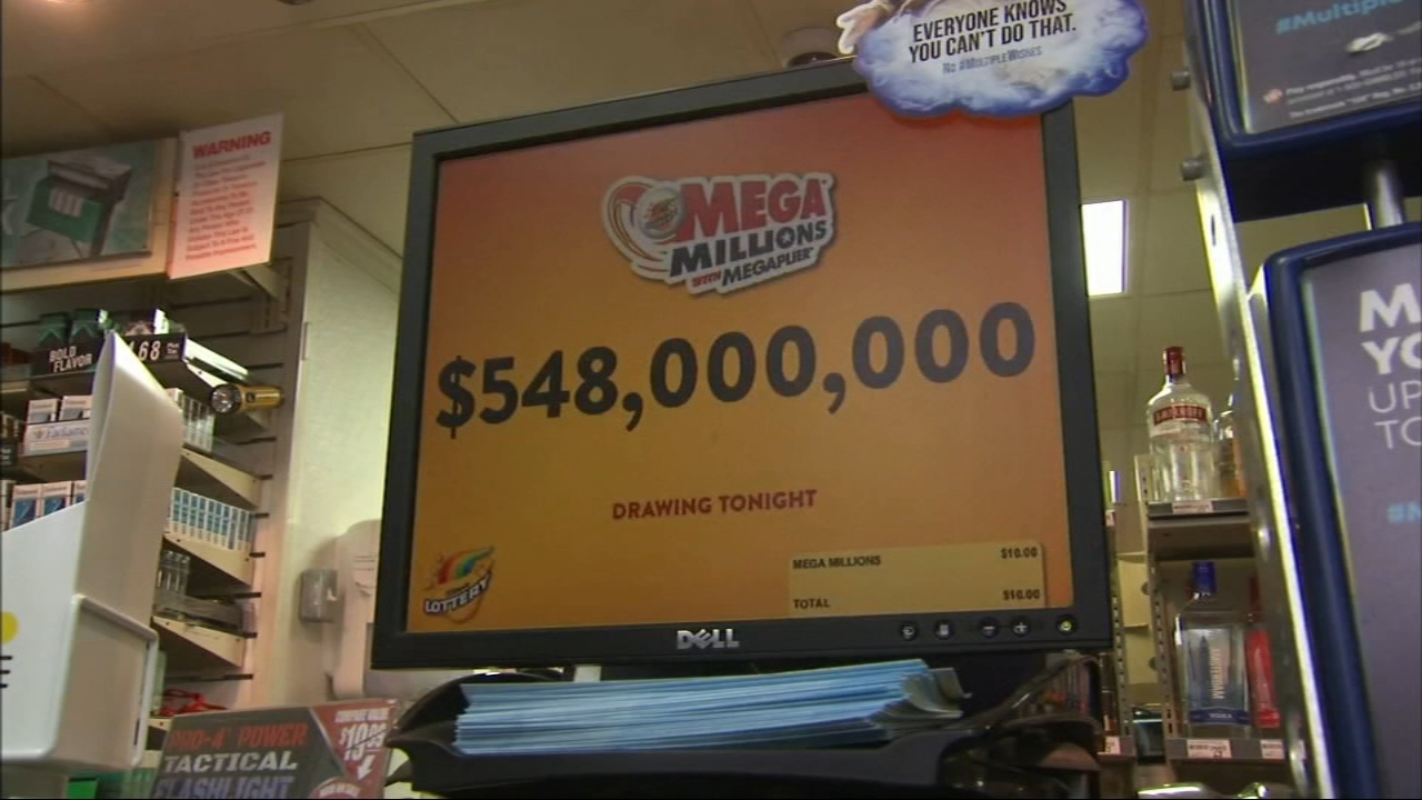 Feeling lucky? The jackpot for Friday nights Mega Millions jackpot is up to $548 million.