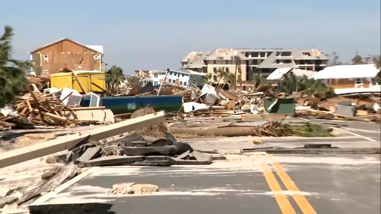 Hurricane Michael devastated the Florida Panhandle.