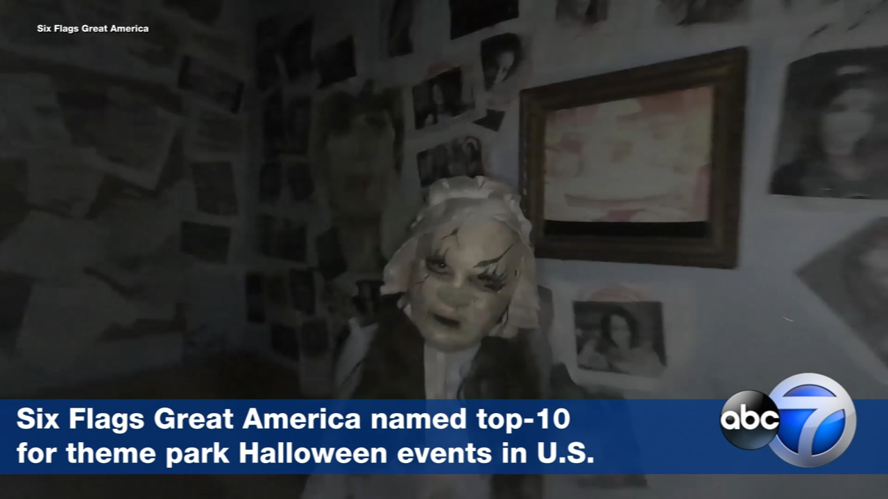 Six Flags Great America named top-10 for theme park Halloween events in U.S.