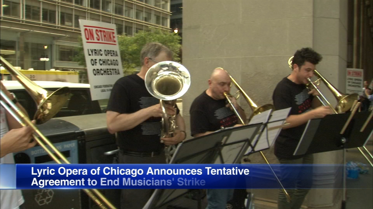 Musicians took to the picket line on Tuesday after their union contract ran out in June and union negotiations were stalled.