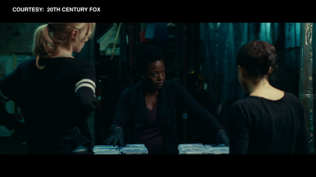 Widows premiered at the Chicago International Film Festival Saturday night.