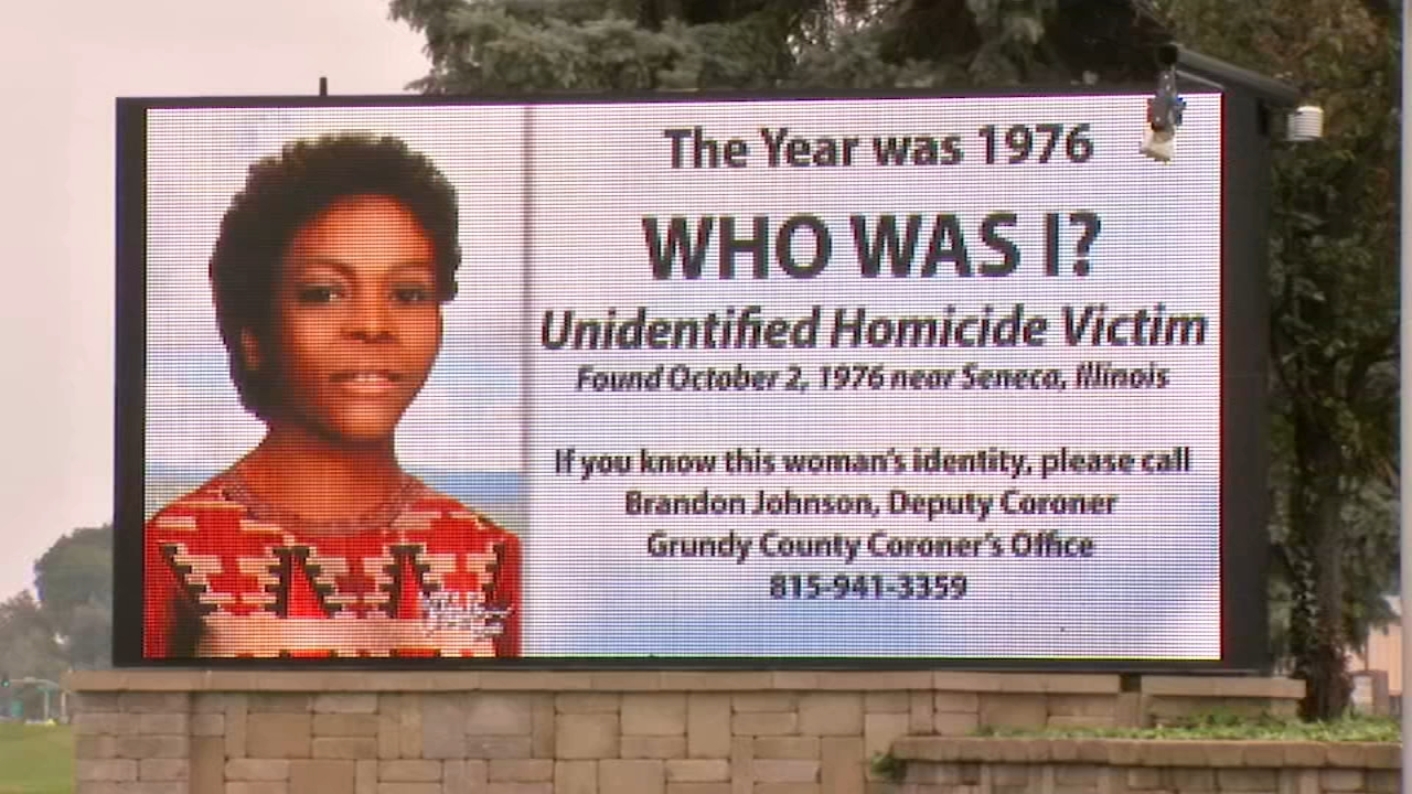 On Oct. 2, 1976, a black woman between the ages of 18 and 23 years old was found dead in a ditch in Grundy County.