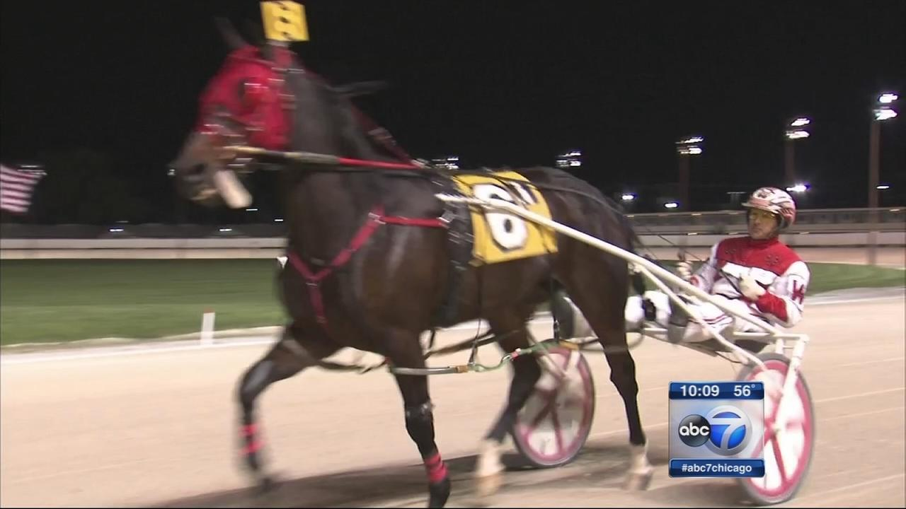 Maywood Park hosts final harness race