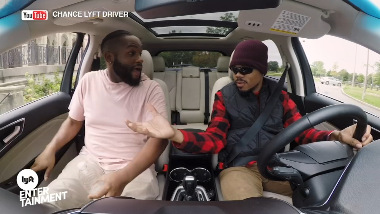 Chance the Rapper partnered with Lyft to raise money for Chicago Public Schools, and filmed a video of him driving unsuspecting residents around the city.