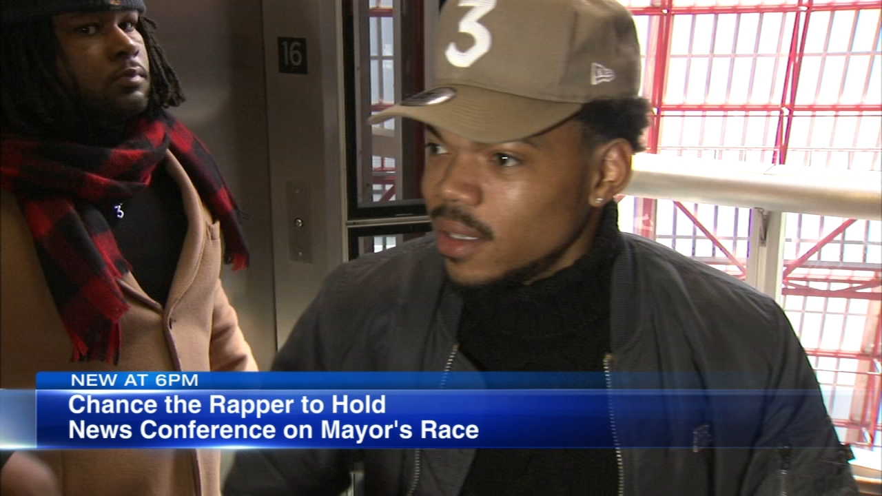 Chance the Rapper announced hes holding a news conference regarding next years mayoral election, prompting speculation that he might make a run.