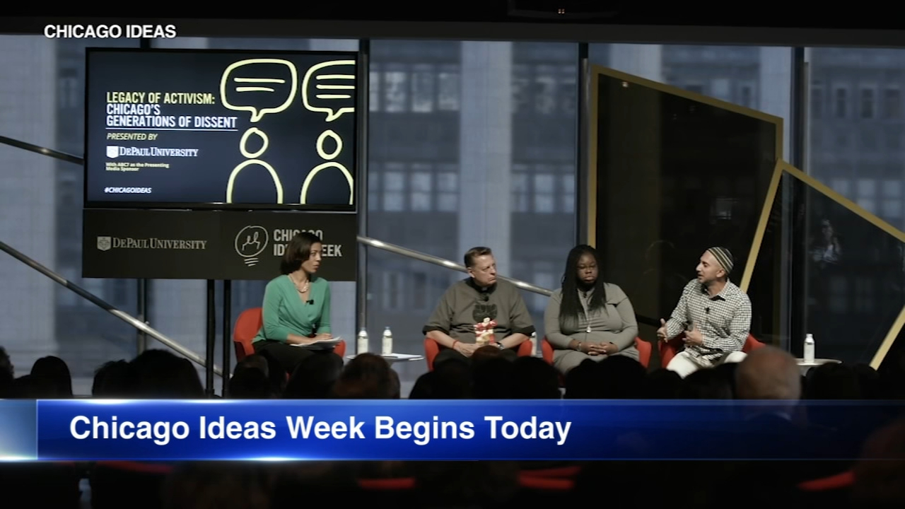Thirty thousand people are expected to take part in Chicago Ideas Week at venues all over the city.