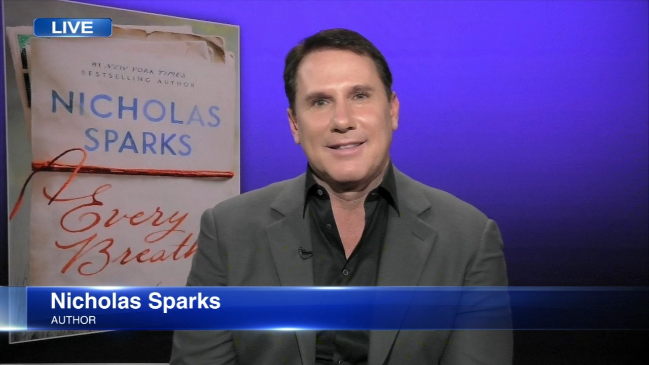 Chances are youve read one of his books or seen one of his love stories on the big screen. Nicholas Sparks is returning to his roots with a new novel, Every Breath.
