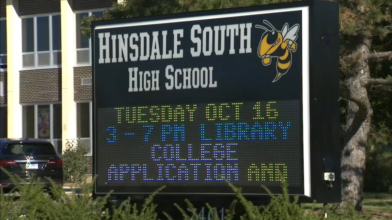 Tours were held Wednesday inside two Hinsdale high schools that officials say have infrastructure issues ahead of a vote on a referendum that would raise taxes to address those iss