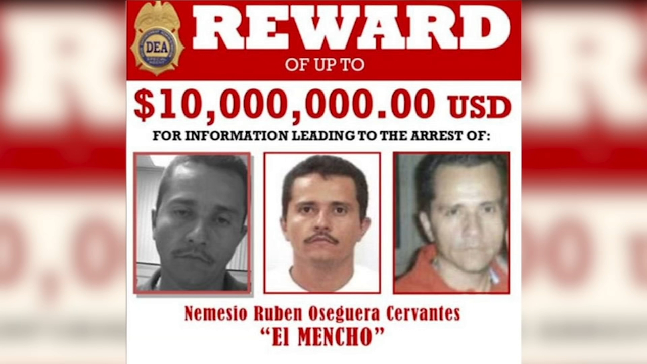 "Nemesio ""El Mencho"" Cervantes, 52, is the accused leader of Mexicos New Generation cartel-that authorities say has been elbowing its way into the Chicago's burgeoning illicit dr"