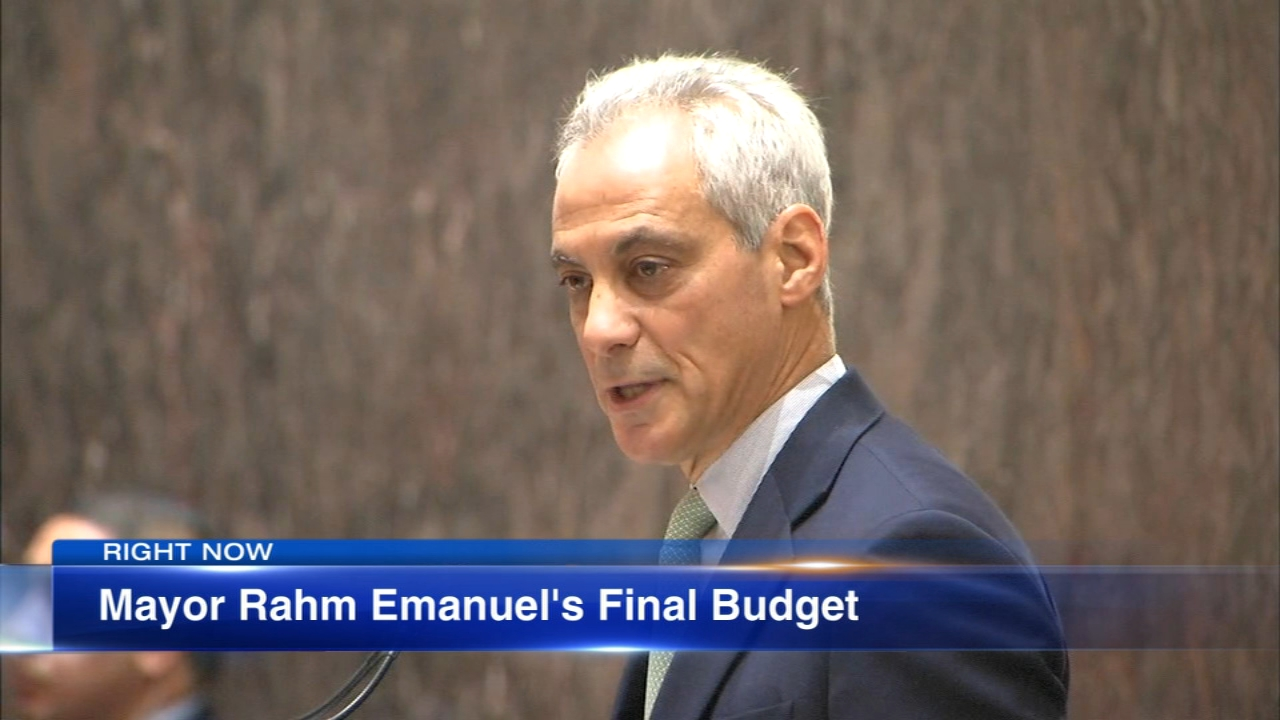 Chicago Mayor Rahm Emanuel unveiled Wednesday his 2019 budget proposal.
