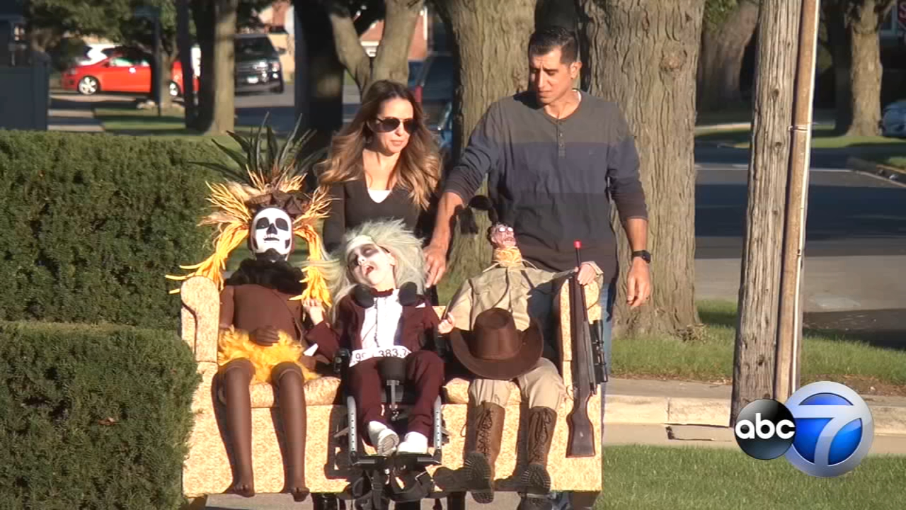 On Halloween, 9-year-old Anthony Alfano is a star.