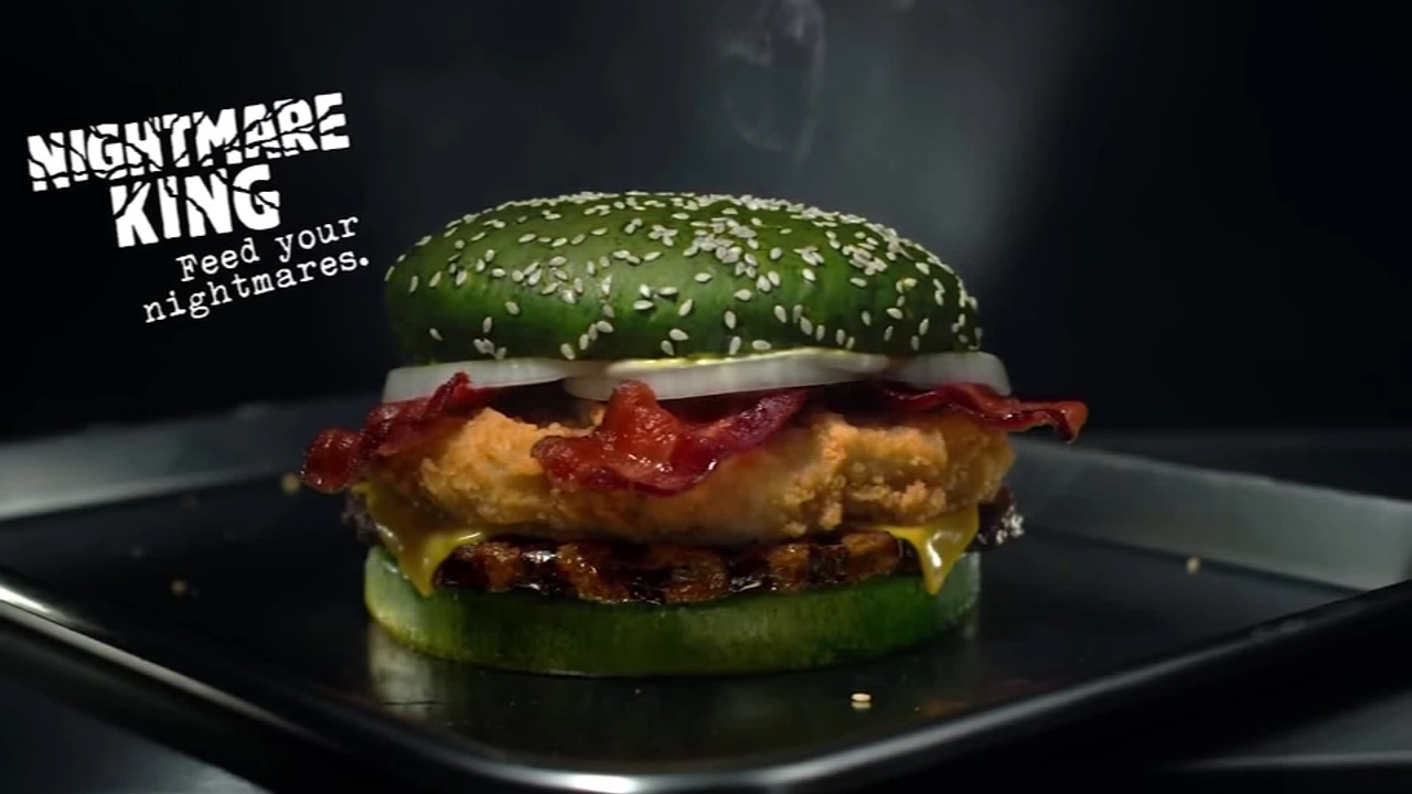 Burger King has a big new sandwich on its menu just in time for Halloween.