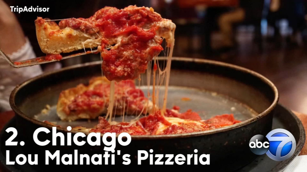 Travel site TripAdvisor released a list of the best pizza cities, and New York City took home the honors ahead of Chicago.
