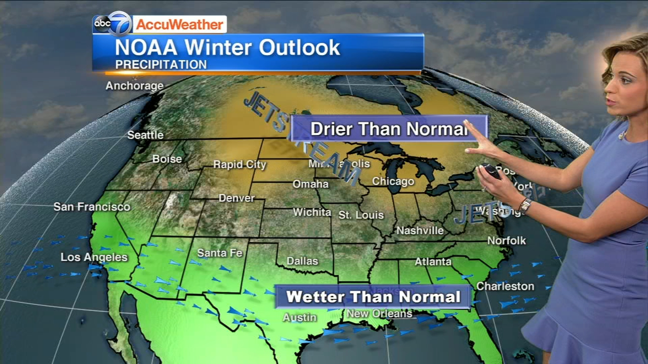 If your not a fan of a lot of snow and like it warmer, than you may enjoy the latest Winter Outlook form NOAAs Climate Prediction Center.