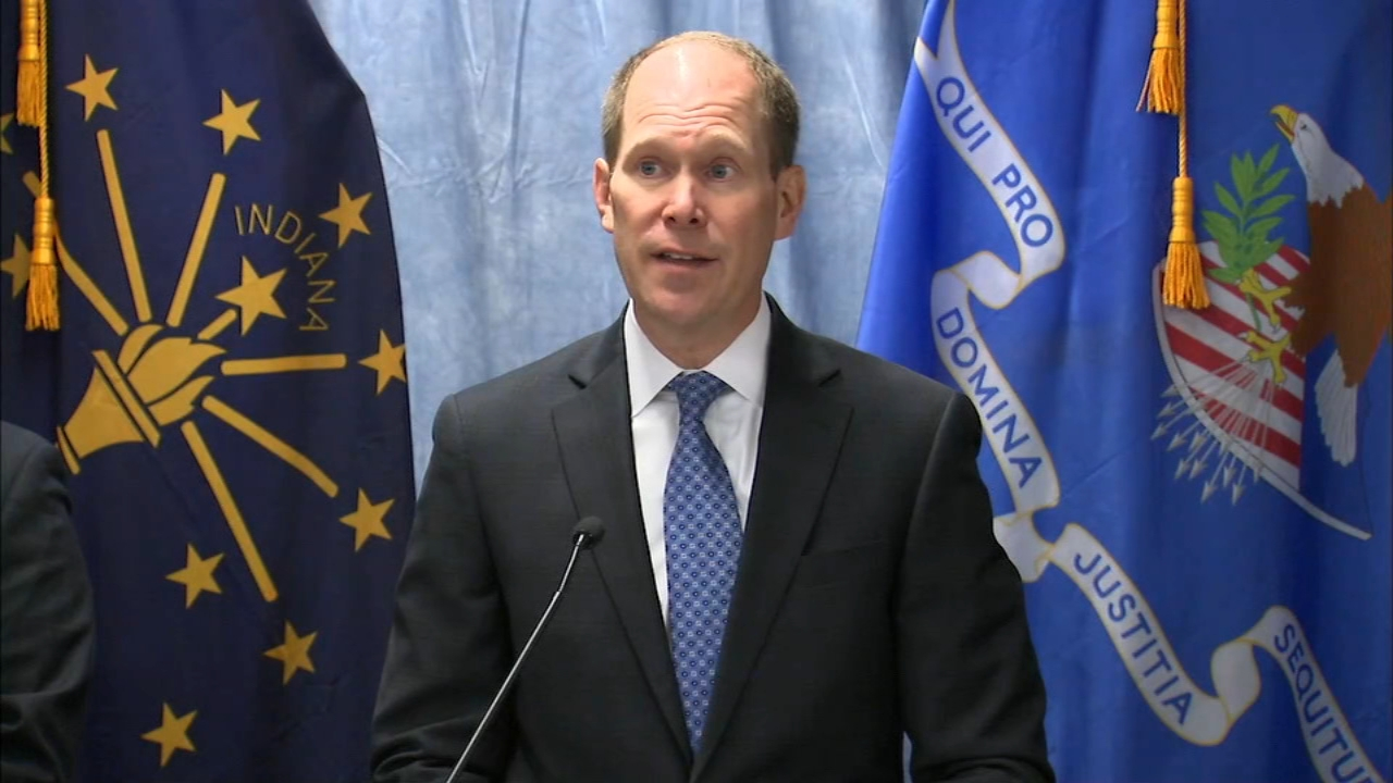 A man has been charged with the 1999 murders of two men in Hammond, Ind., U.S. Attorney for the Northern District of Indiana Thomas Kirsch said Friday.