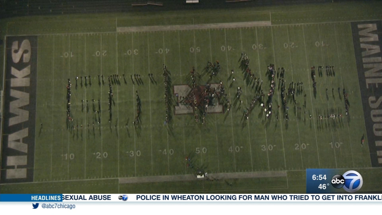 This week, we feature Maine South High School on ABC7s Friday Flyover, celebrating high school sports!