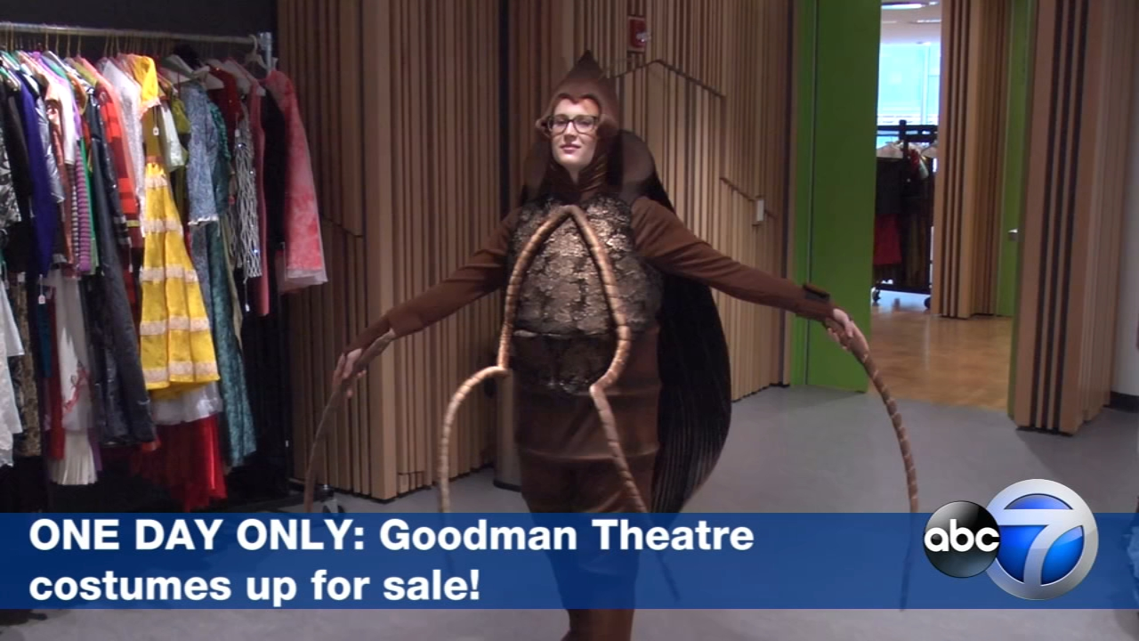 The Goodman Theatres costume shop needs to make space for new stuff, so the theatres selling off dozens of show-worn outfits.