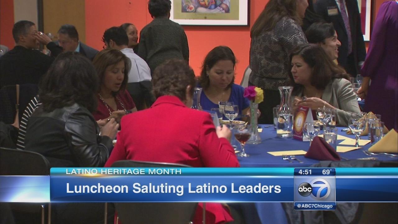 ABC7 hosts Latino Heritage Month luncheon