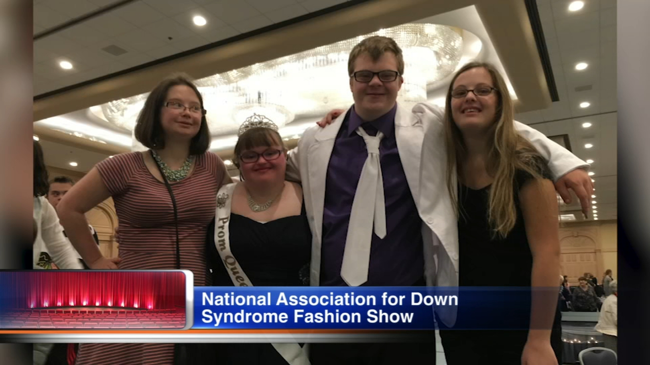 The National Association for Down Syndrome will hold the Shine Bright Like a Diamond fashion show in Rosemont on Sunday, Oct. 28.