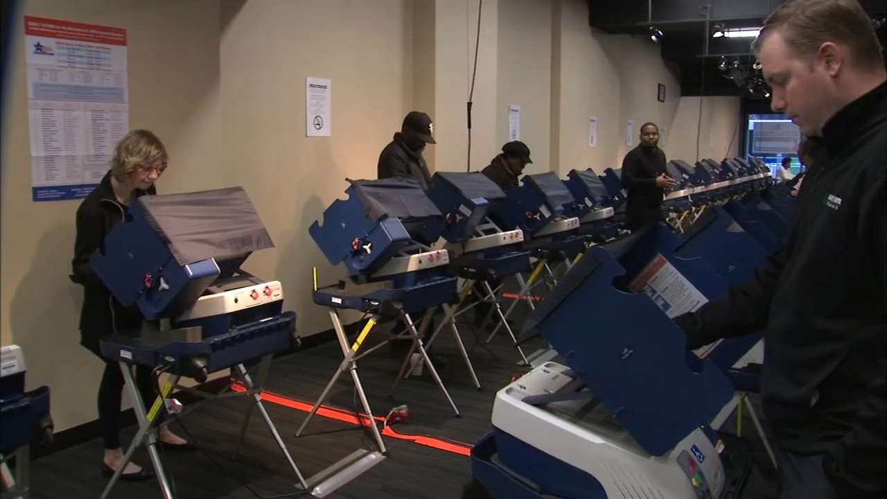 Early voting is available now in all 50 wards and across most of the suburbs.