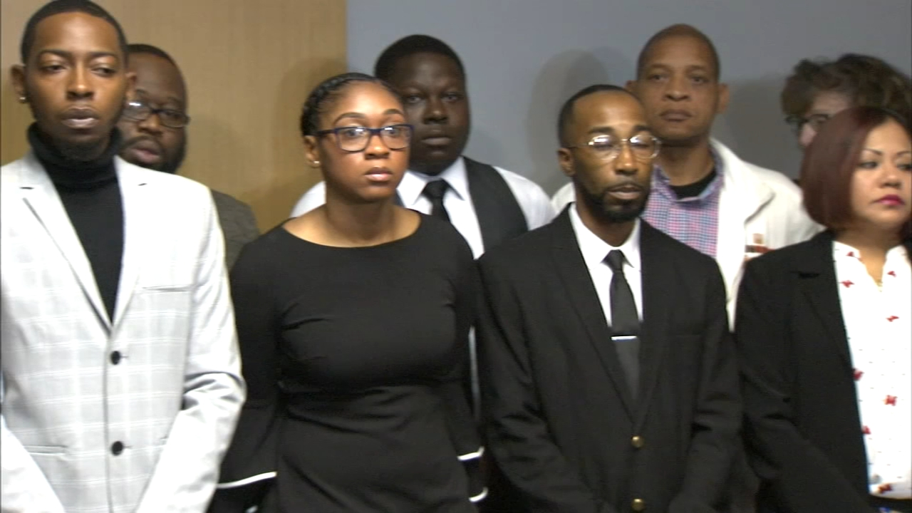 The campaign workers who are suing Democratic candidate for governor JB Pritker for racial discrimination came forward Monday in a show of solidarity.