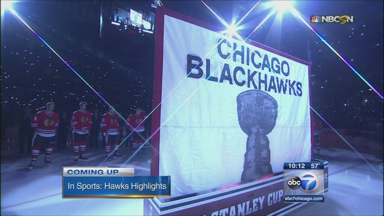 Blackhawks host home opener against Rangers