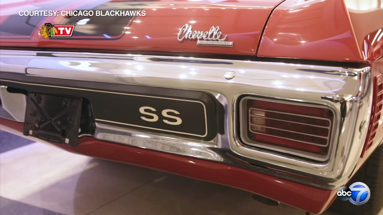 Are you a Chicago Blackhawks fan who is also in love with classic cars? If so, listen up.