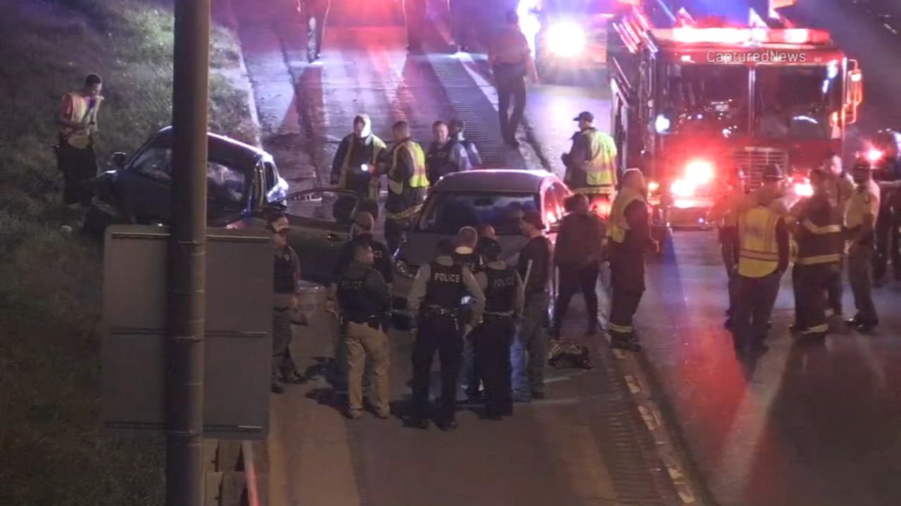 One person was killed and two others wounded after a shooting Monday night on I-57 in Calumet Park, Illinois State Police said.