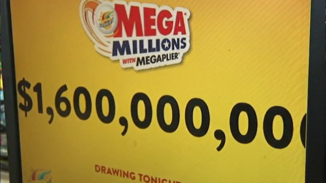 The Mega Millions lottery jackpot is at a record $1.6 billion. It would be the largest jackpot prize in U.S. history and comes with a cash option of $913 million.