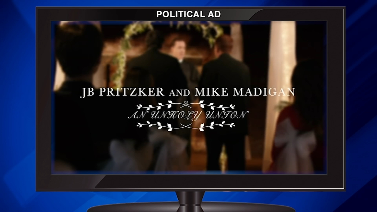 Theres a new controversial ad in the race for governor. Its getting attention and criticism for what it doesnt say.