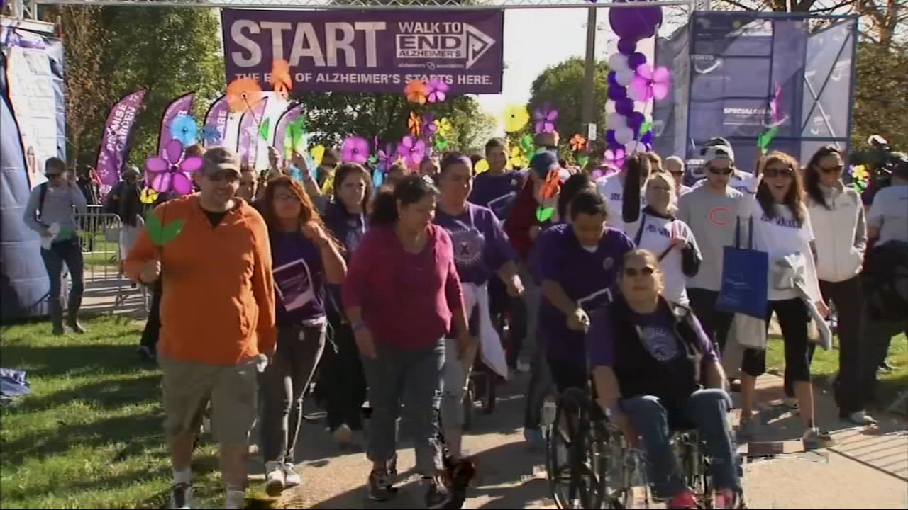 Thousands will lace up their shoes this weekend to walk to end Alzheimers disease.