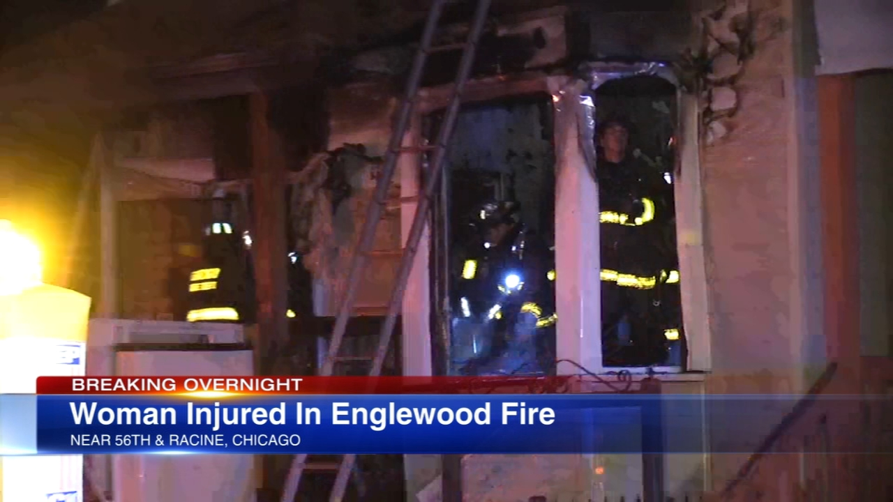 A 56-year-old woman was critically injured in a fire early Wednesday morning on Chicagos South Side.