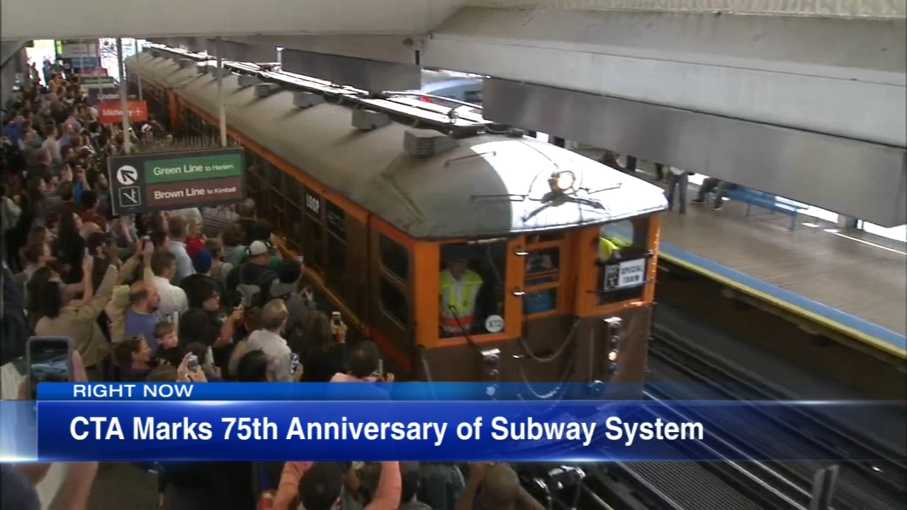 The State Street Subway, Chicagos first underground rapid-transit line, turned 75 years old Wednesday.