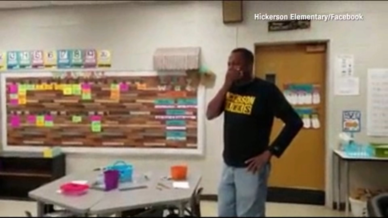 It was a priceless surprise for a hearing-impaired school custodian in Tennessee on his 60th birthday.